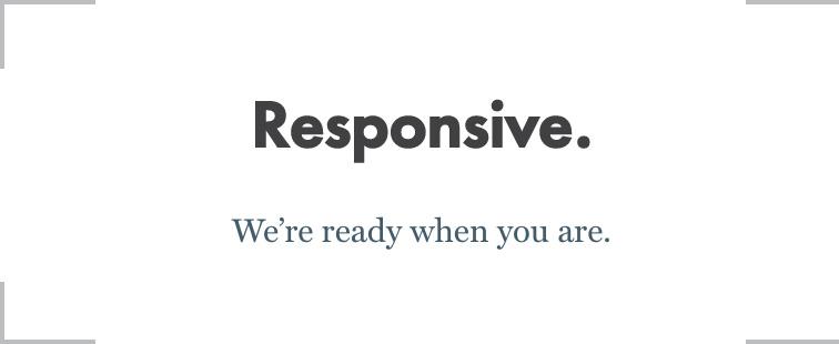 Tagline-Responsive