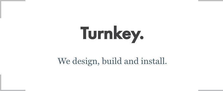Tagline-Turnkey